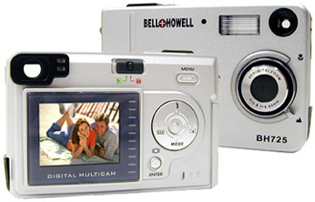 Bell & Howell BH725 Super Advanced 6.0 Megapixel Digital Camera