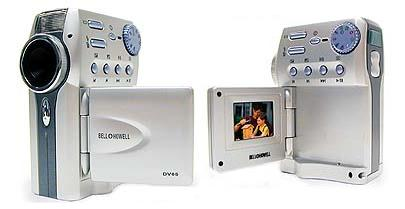 Bell & Howell DV65 Digtal Camera & Digital Video Recorder
